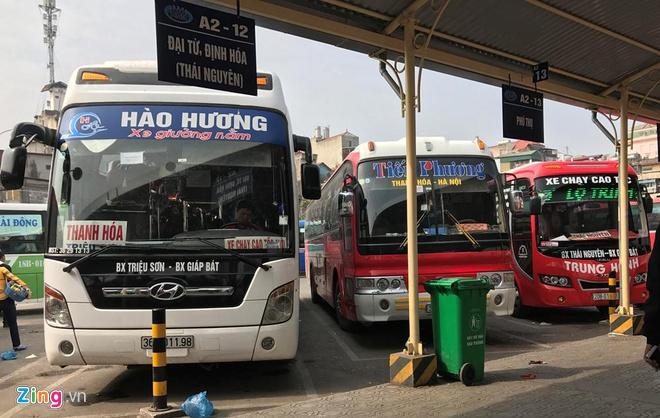 Lịch trình và giá vé các xe khách chạy từ Triệu Sơn đi Giáp Bát, Nước Ngầm, Mỹ Đình, Yên Nghĩa và ngược lại