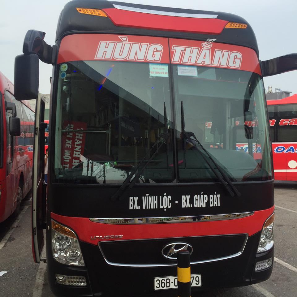 Giờ chạy và giá vé các xe chạy từ Vĩnh Lộc đi Giáp Bát, Nước Ngầm, Mỹ Đình, Yên Nghĩa, Gia Lâm và ngược lại