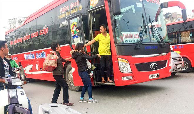 Giờ chạy, giá vé các xe khách từ Yên Định đi Giáp Bát, Nước Ngầm, Mỹ Đình, Gia Lâm, Yên Nghĩa và ngược lại