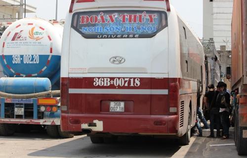 Giờ chạy và giá vé các xe chạy từ Nghi Sơn đi Giáp Bát, Nước Ngầm, Mỹ Đình, Yên Nghĩa, Gia Lâm và ngược lại