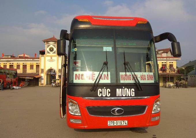 Lịch trình các xe chạy từ Nước Ngầm, Giáp Bát, Mỹ Đình, Yên Nghĩa về Nghệ An (phần 2)