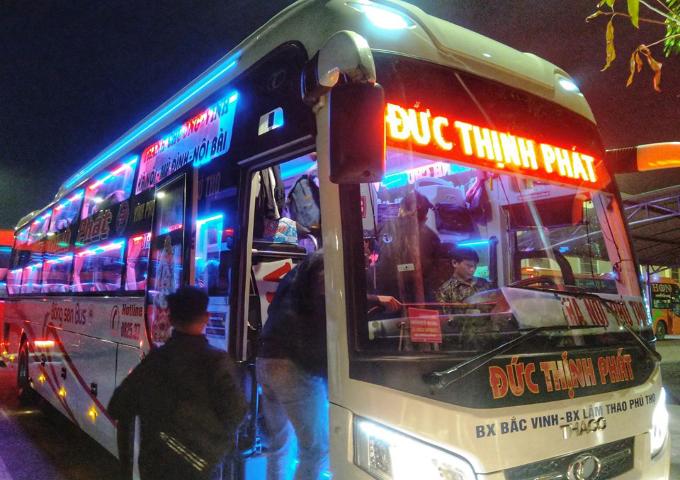 Giờ chạy và giá vé các xe khách từ Nam Đàn đi Giáp Bát, Mỹ Đình, Nước Ngầm, Yên Nghĩa, Gia Lâm và ngược lại