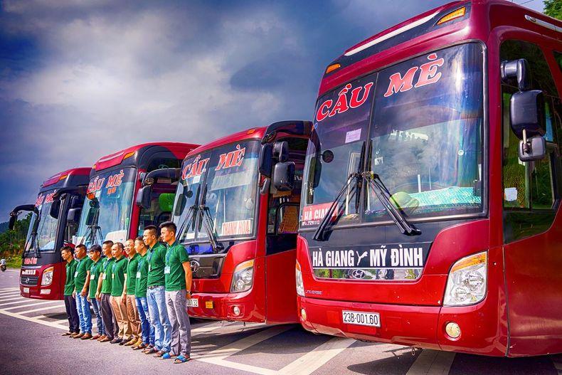 Lịch chạy các xe khách từ Hà Giang đi Mỹ Đình, Giáp Bát, Yên Nghĩa, Nước Ngầm, Gia Lâm và ngược lại