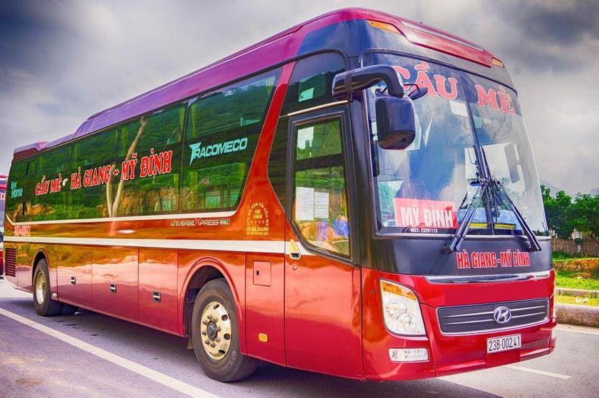 Lịch chạy các xe ghế ngồi từ Hà Giang đi Mỹ Đình, Giáp Bát, Nước Ngầm, Yên Nghĩa, Gia Lâm và ngược lại