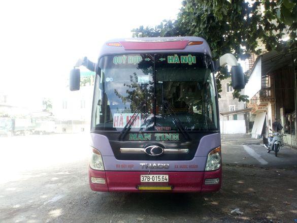Lịch chạy các xe từ thị xã Thái Hòa đi Nước Ngầm, Giáp Bát, Mỹ Đình, Gia Lâm, Yên Nghĩa và ngược lại