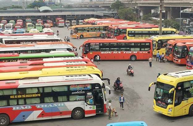 Giờ chạy tất cả tuyến xe khách Hà Nội - Thái Bình 2019