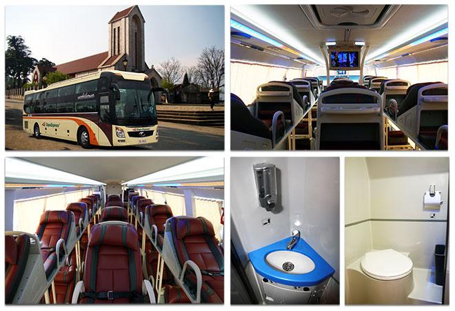 Thông tin chi tiết vé xe bus sapa, lịch trình giá vé đầy đủ nhất
