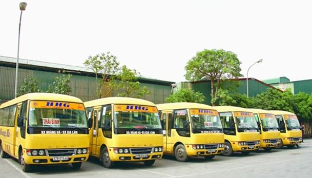 Tổng hợp danh sách xe khách Thái Bình - Hà Nội Giáp Bát, Mỹ Đình, Nước Ngầm, Gia Lâm, Yên Nghĩa