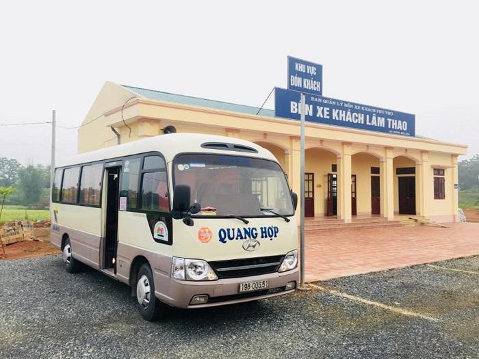Bảng vé xe khách Phú thọ - Yên Nghĩa hàng ngày cập nhật liên tục