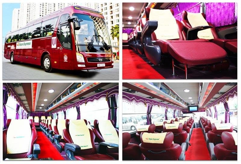 Tổng đài đặt vé xe sapa express của hãng: SĐT 024 22 37 38 38