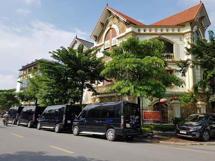 Nhà xe Anh Huy - xe limousine Hà Nội Hải Phòng uy tín