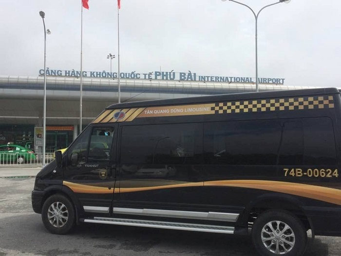 xe limousine Giáp Bát đi Huế